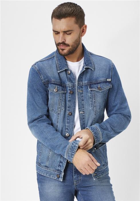 Jacheta blugi barbati Western Jacket PADDOCK'S albastru deschis [0]