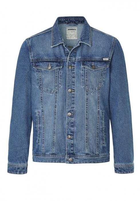 Jacheta blugi barbati Western Jacket PADDOCK'S albastru deschis [3]