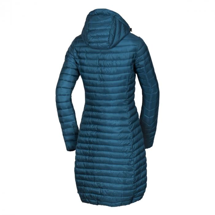 Jacheta femei lunga puf sintetic 2D NORTHFINDER Vaspa albastra [1]
