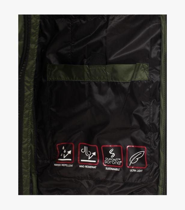 Jacheta matlasata barbati CASA MODA verde [5]