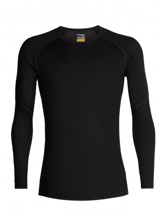 Bluza de corp barbati ICEBREAKER 150 Zone LS neagra [0]
