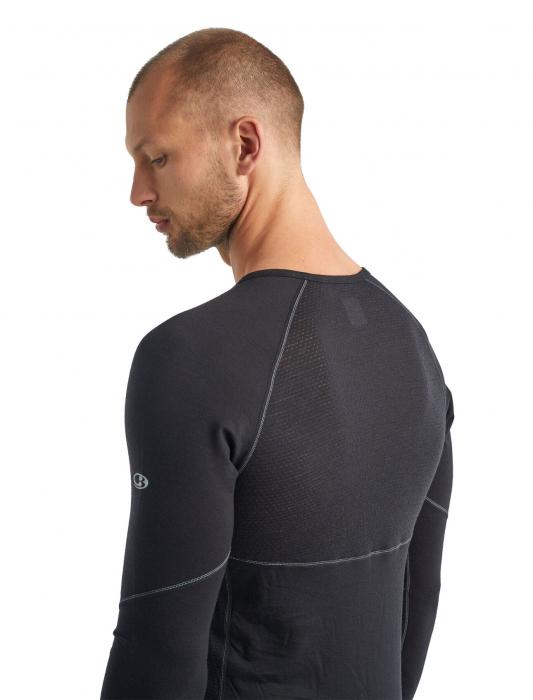 Bluza de corp barbati ICEBREAKER 150 Zone LS neagra [5]