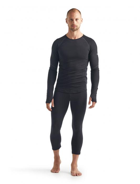 Bluza de corp barbati ICEBREAKER 150 Zone LS neagra [3]