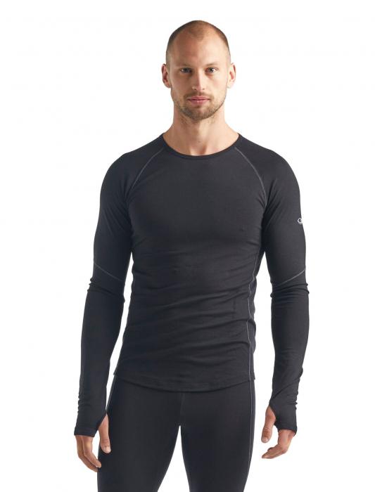 Bluza de corp barbati ICEBREAKER 150 Zone LS neagra [1]