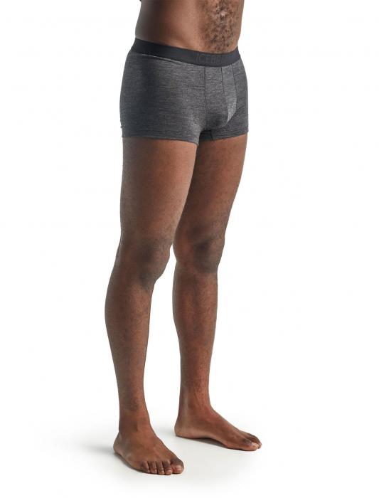 Boxeri merino barbati ICEBREAKER Anatomica Cool-Lite gri [4]