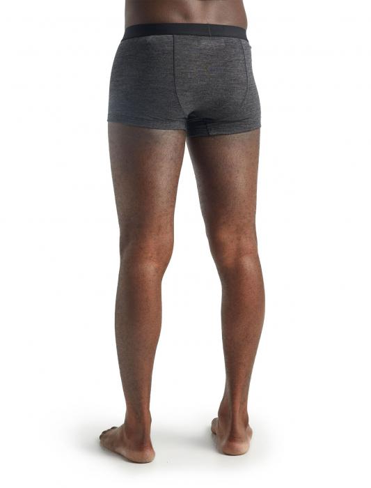 Boxeri merino barbati ICEBREAKER Anatomica Cool-Lite gri [5]