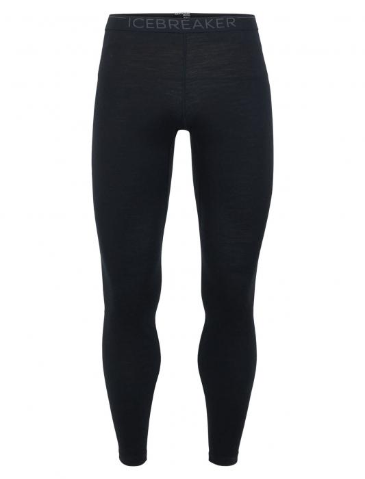 Pantaloni de corp barbati ICEBREAKER 200 Oasis negri [0]