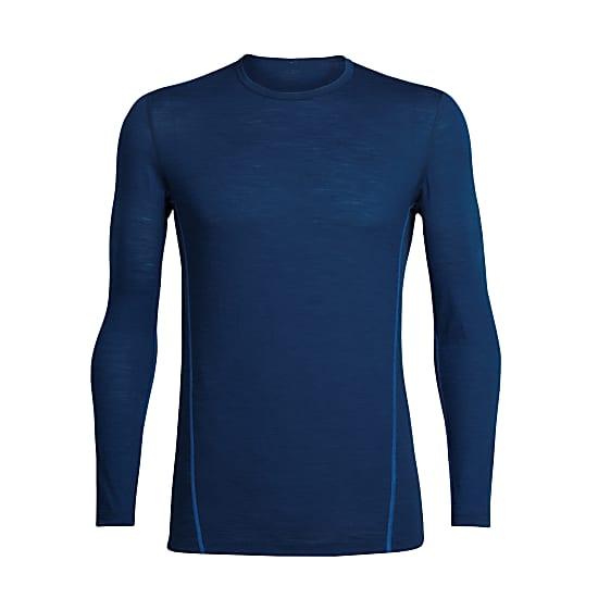 Bluza de corp barbati ICEBREAKER Aero LS Crewe albastra [0]
