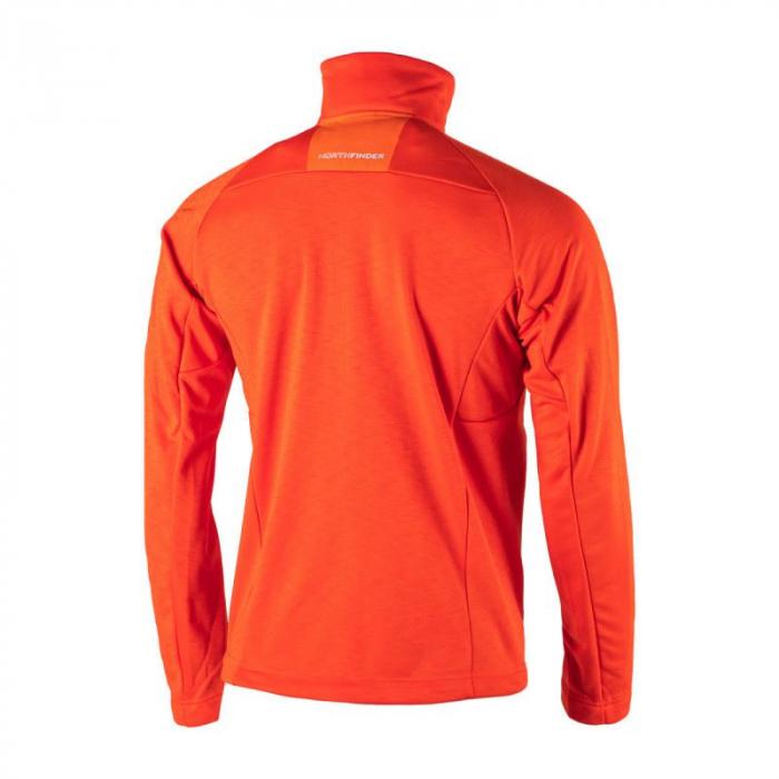 Bluza midlayer barbati NORTHFINDER Northpol portocalie [1]