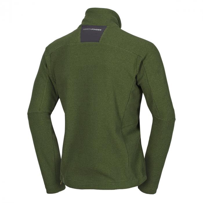 Bluza barbati NorthPolar® Fleece 270gsm travel NORTHFINDER Vonby verde [1]