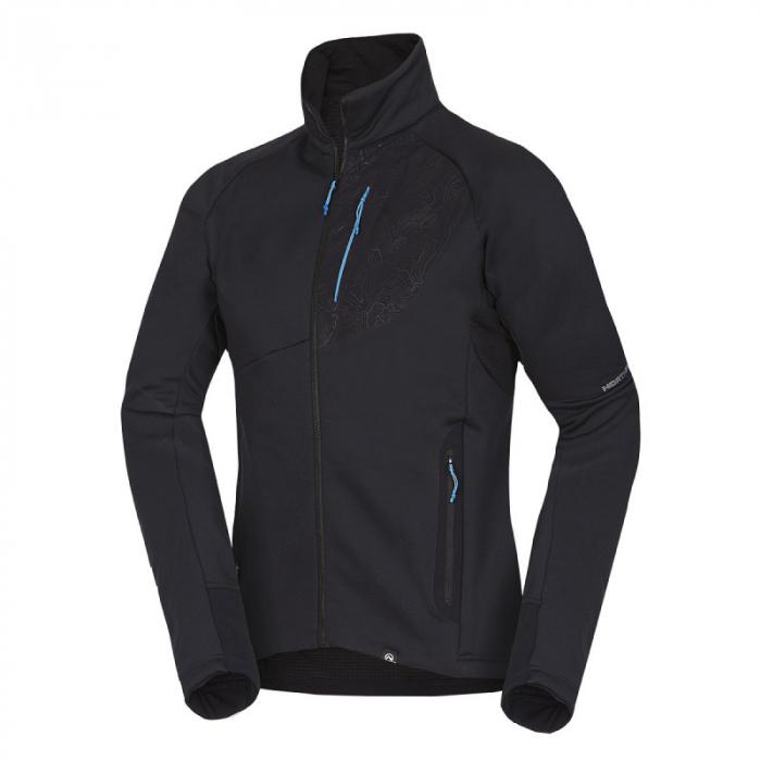 Bluza barbati midlayer fleece NORTHFINDER KREMENEC negru [0]
