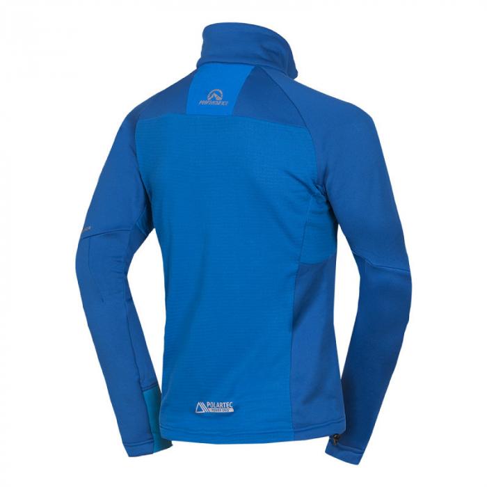 Bluza barbati midlayer fleece NORTHFINDER KREMENEC albastru [1]