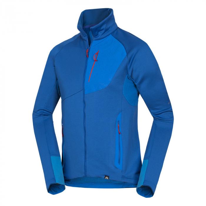 Bluza barbati midlayer fleece NORTHFINDER KREMENEC albastru [0]