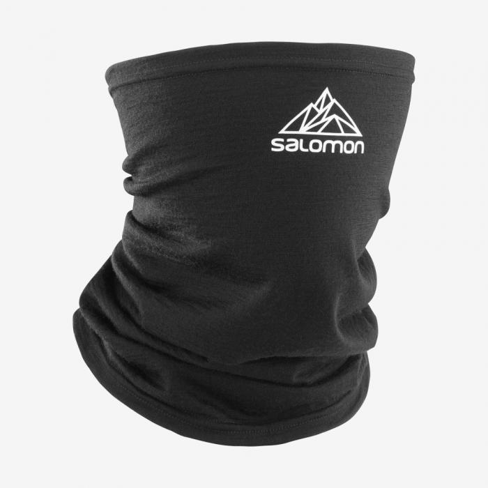 Esarfa tub merino unisex SALOMON MTN TOUR2COOL negru [0]