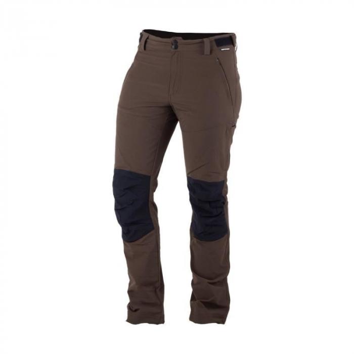 Pantalonii trekking barbati NORTHFINDER PAVALUS maro [0]