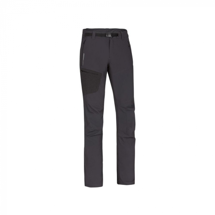 Pantaloni softshell 3L barbati NORTHFINDER Tremme extra lungi gri [0]