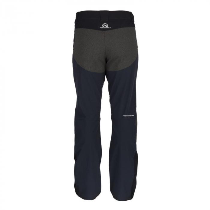 Pantaloni softshell hibrid 3L barbati NORTHFINDER HROMOVEC negru/negru [1]