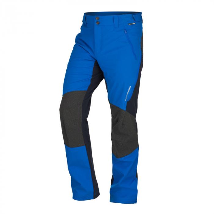Pantaloni softshell hibrid 3L barbati NORTHFINDER HROMOVEC albastru/negru [0]