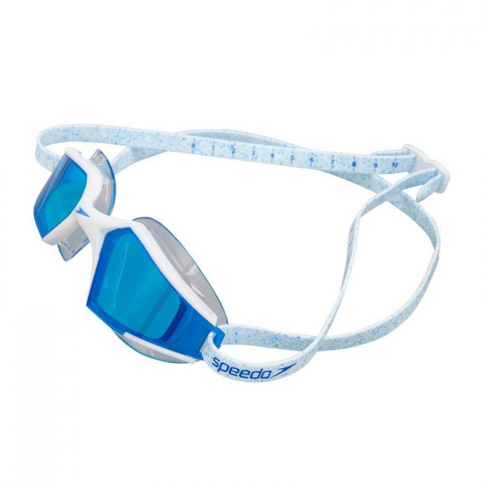 Ochelari inot adulti SPEEDO AquaPulse Max Mirror V3 alb/albastru unisex [0]