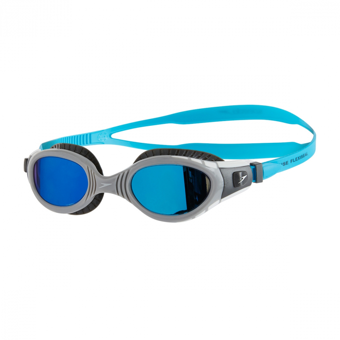 Ochelari inot SPEEDO Futura Biofuse flexiseal negru/albastru; [0]