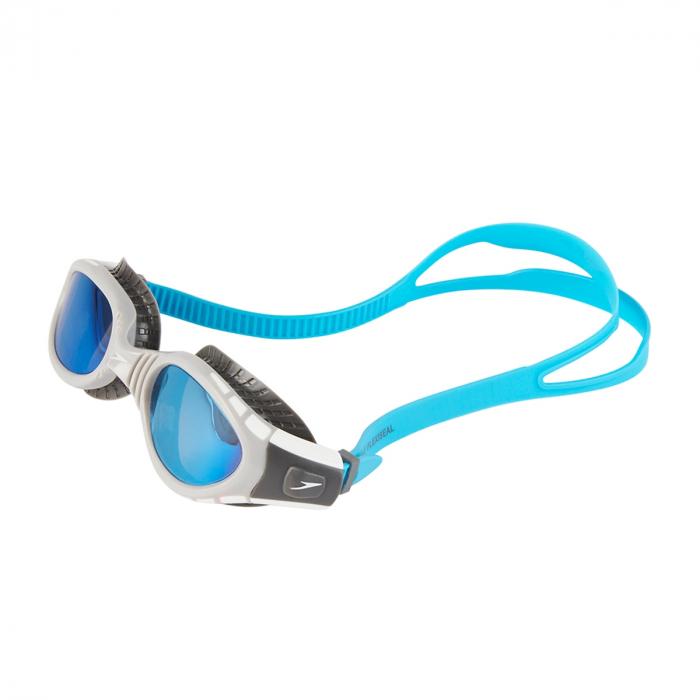 Ochelari inot SPEEDO Futura Biofuse flexiseal negru/albastru; [1]
