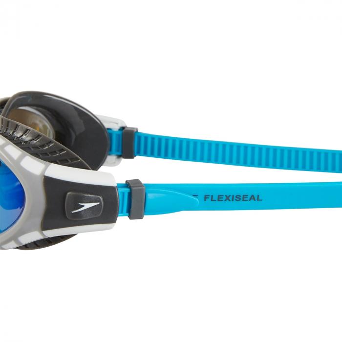 Ochelari inot SPEEDO Futura Biofuse flexiseal negru/albastru; [3]