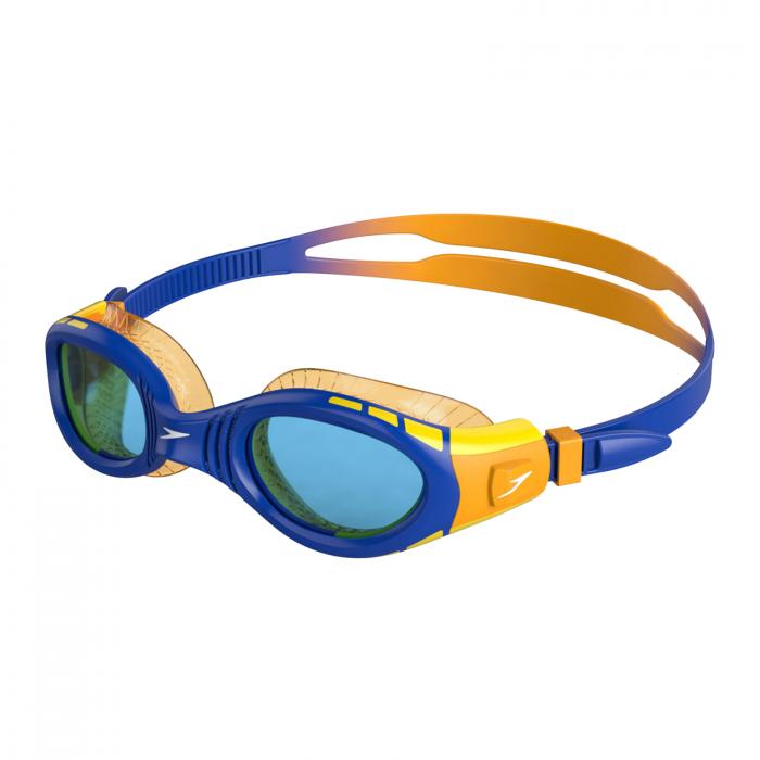 Ochelari inot pentru copii SPEEDO Futura Biofuse Flexiseal portocaliu/albastru [0]
