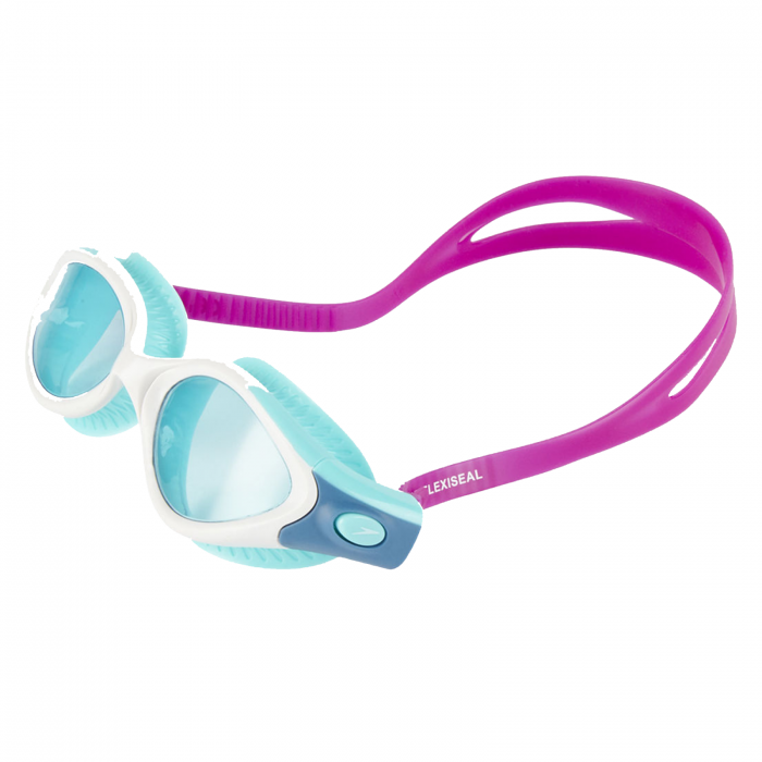 Ochelari inot femei SPEEDO Futura biofuse Flexiseal mov/alb [1]