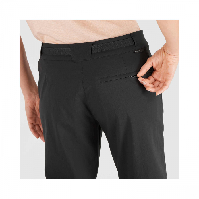 Pantaloni drumetie femei SALOMON OUTRACK negru [4]