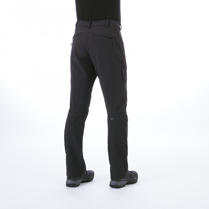 Pantaloni barbati MAMMUT Winter Hiking SO black [1]