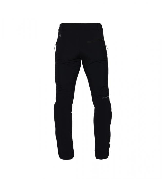 Pantaloni barbati strong-softshell 3L trekking NORTHFINDER Simet negri [0]