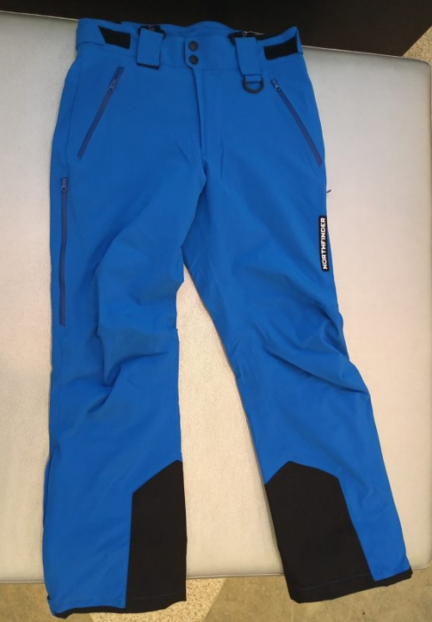 Pantaloni barbati ski stretch NORTHFINDER Todfy albastri [0]