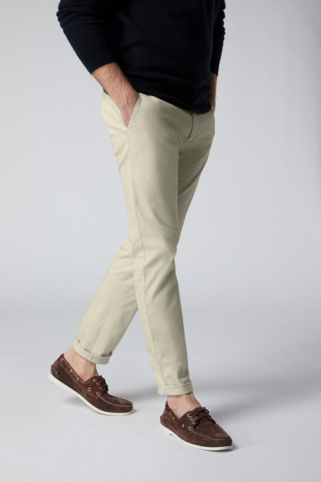 Pantaloni chino bumbac barbati SPOKE SHARP Lightweights bej [0]