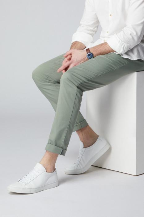 Pantaloni chino bumbac barbati SPOKE SHARP Lightweights vernil [3]