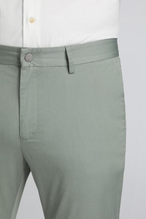 Pantaloni chino bumbac barbati SPOKE SHARP Lightweights vernil [4]