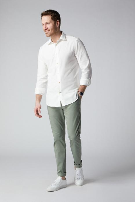 Pantaloni chino bumbac barbati SPOKE SHARP Lightweights vernil [1]