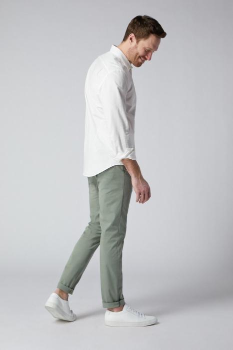 Pantaloni chino bumbac barbati SPOKE SHARP Lightweights vernil [2]