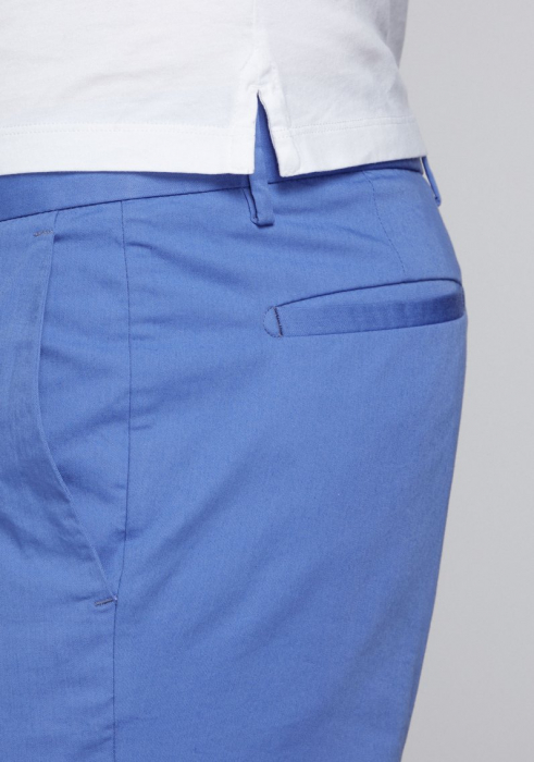 Pantaloni chino bumbac barbati SPOKE SHARP Lightweights albastri [4]