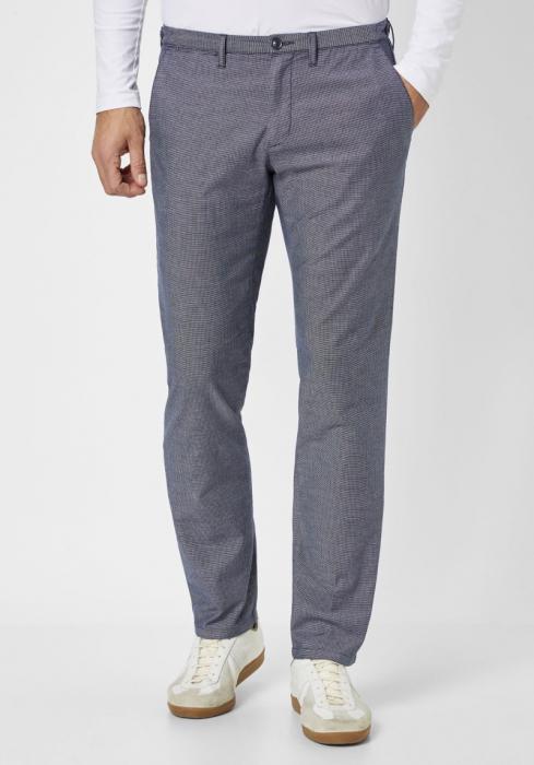 Pantaloni chino barbati REDPOINT Belleville albastri [0]