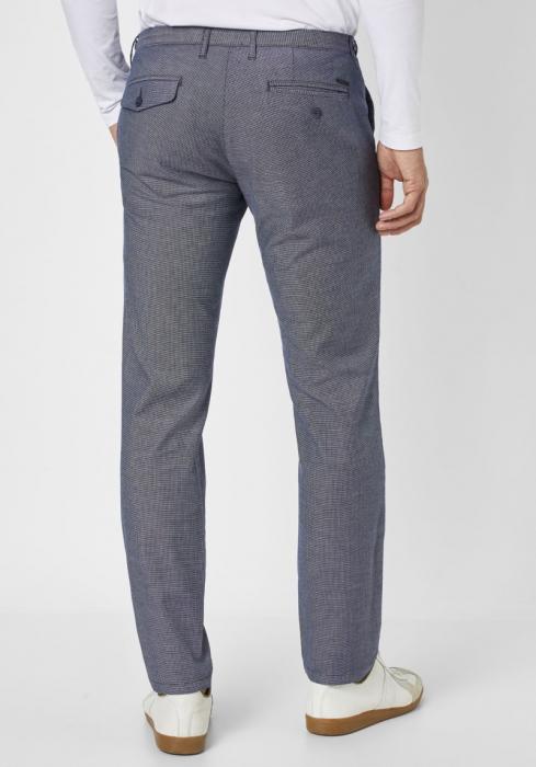 Pantaloni chino barbati REDPOINT Belleville albastri [1]
