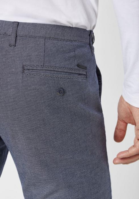 Pantaloni chino barbati REDPOINT Belleville albastri [3]
