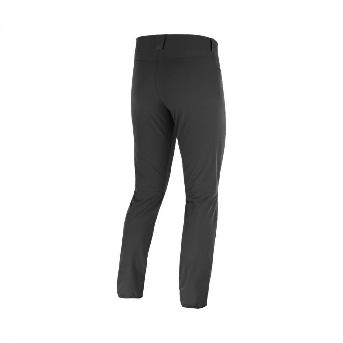 Pantaloni drumetie barbati SALOMON WAYFARER TAPERED negru [2]