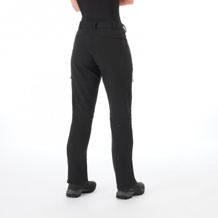 Pantaloni femei MAMMUT Winter Hiking SO black [2]