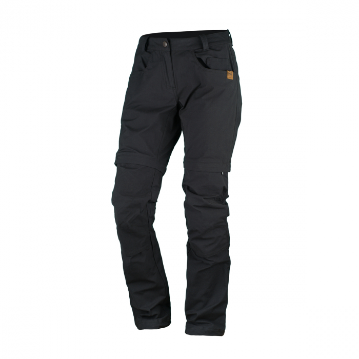 Pantaloni multifunctionali 2 in 1 femei NORTHFINDER TLONA negri [0]