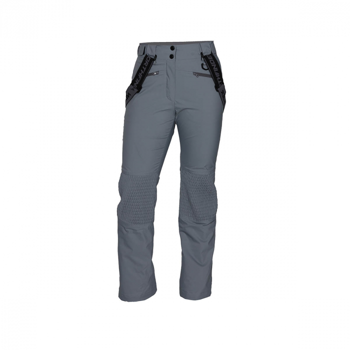 Pantaloni femei ski 2L NORTHFINDER Ghresta gri [0]