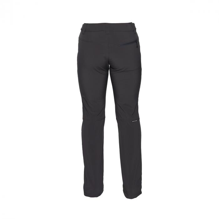 Pantaloni femei strong-softshell 3L trekking NORTHFINDER Simetria negri [1]