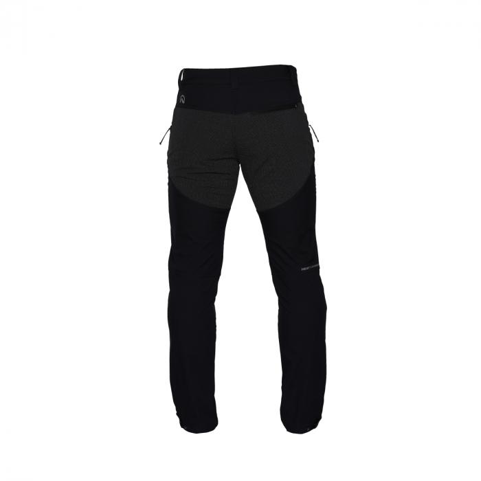 Pantaloni lungi barbati Stretch SoftShell 3L trekking NORTHFINDER Serdz negri [1]