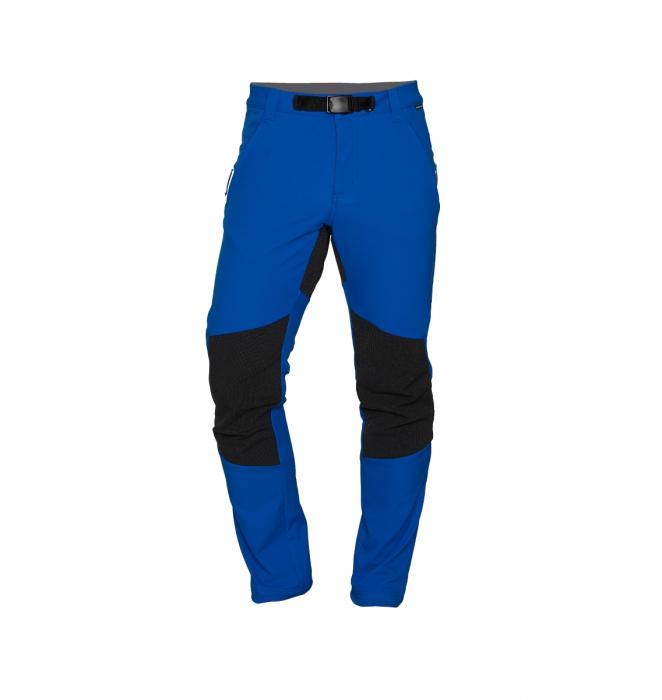 Pantaloni lungi barbati Stretch SoftShell 3L trekking NORTHFINDER Serdz albastri [0]