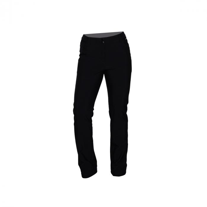 Pantaloni lungi femei softshell 3L travel NORTHFINDER Vinstoria negri [0]
