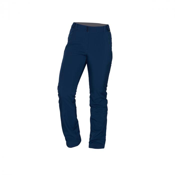Pantaloni lungi femei softshell 3L travel NORTHFINDER Vinstoria nightblue [0]